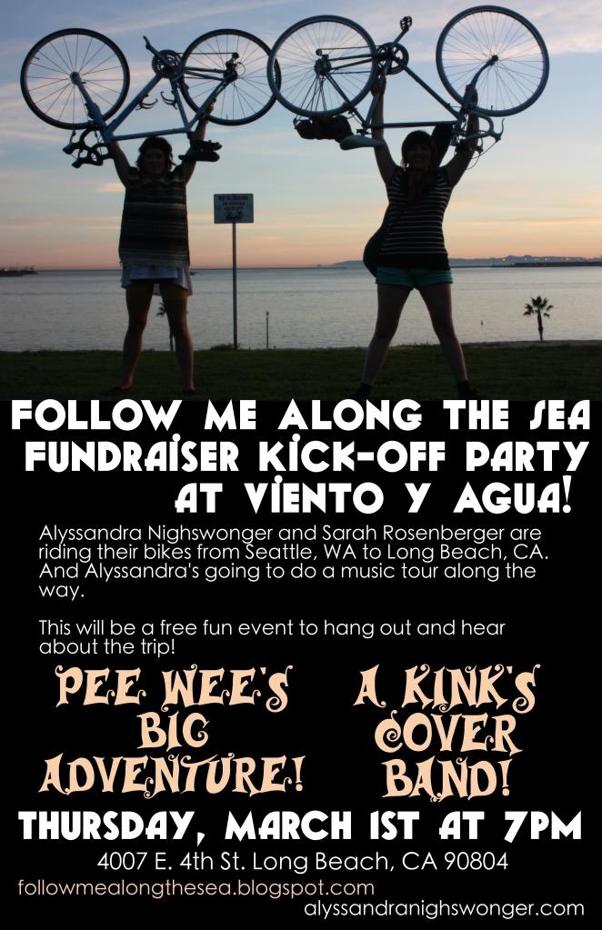 Follow Me Along The Sea Fundraiser Kick Off Party!
